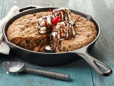 Get Ree Drummond's Skillet Cookie Sundae Recipe from Food Network