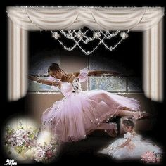 belles images anim s - Page 14 Bad Fashion, Retro Fashion, Ballet School, Happy Labor Day, Shape And Form, Just Dance, Photomontage, Vintage Prints, Flower Girl Dresses