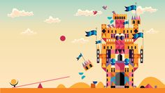 SIMPLE MACHINES - Illustration by James Gilleard