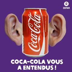 Après plus de 225 000 signatures d'une pétition lancée par Oxfam, Coca-Cola, le plus gros acheteur de sucre au monde, a fait ce que vous lui avez demandé : l'entreprise s'est engagée à une tolérance zéro des accaparements de terres. Au tour de Pepsi et Associated British Foods, maintenant ! http://oxf.am/wkv