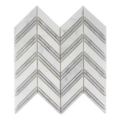 Chevron Mosaic Bianco Carrara White - Venato Carrara Marble Floor & Wall bathroom tile when you work with TileBuys on your project. Visit the contact page and schedule a free 30 minute consultation. Arabesque Tile Backsplash, Carrara Marble Bathroom, Marble Mosaic, Bathroom Floor Tiles, Marble Floor, Mosaic Tiles, Wall Tiles, Shower Backsplash, Backsplash Ideas