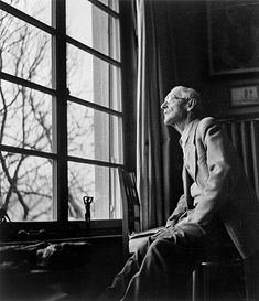 """It was morning; through the high window I saw the pure, bright blue of the sky as it hovered cheerfully over the long roofs of the neighboring houses. It too seemed full of joy, as if it had put on its finest clothes for the occasion."" ~ Hermann Hesse"