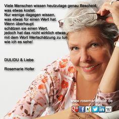 #Wertschätzung  #Tagesgedanken #RosemarieHofer #Fotografin #DULIDU #Krebs http://www.rosemariehofer.de/   Teilen ist ausdrücklich erlaubt