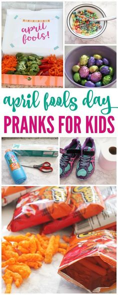 Who doesn't love to pull a few April Fools Day Pranks on their kids on April 1st? Some of them an be pretty hard, but I found some super easy and fun April Fools Day Jokes for kids! #passion4savings #april #fools #day