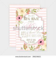f7165fc091b3 Wedding invitation - stock vector Card Stock