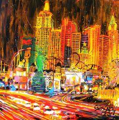 york in vegas by GabyGaby Art, via Flickr