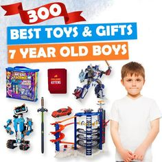 13d3a43f34b Best Toys and Gifts for 7 Year Old Boys 2018