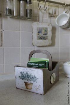 """Короб для специй """" laurel """" - короб для специй,короб для кухни,прованские травы"""