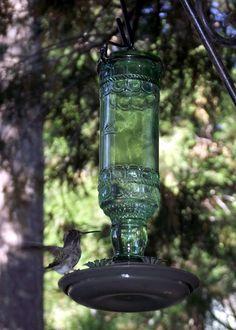 vintagesusie & wings  hummingbird feeder from Amazon...