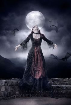 In the night come to me by cylonka.deviantart.com