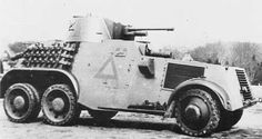 Armu Holland WWII. Armoured car nr. 19 of 4-2 E.Paw. Pin by Paolo Marzioli