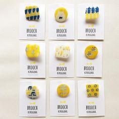 324 個讚好,1 則回應 - Instagram 上的 kurogoma.(@kurogoma46):「 ブローチ博で販売するアクセサリーです♫ kurogoma.のアクセサリーはひとつひとつ手描きで制作してます^ ^ 、、、、、、 [ 布博 in 東京 vol.8 ]… 」