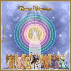 Cantinho de Imagens da Guerreira: Raios Cósmicos Chakras, Portal, Star Family, Ascended Masters, Saint Germain, Spiritual Life, Sacred Geometry, Cosmic, Avatar