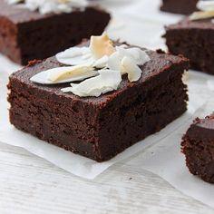 Sweet Potato Fudge Brownie Cake - foodgawker » Vegan