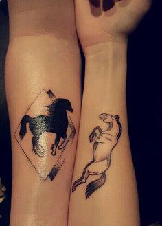 Horse tattoo idea