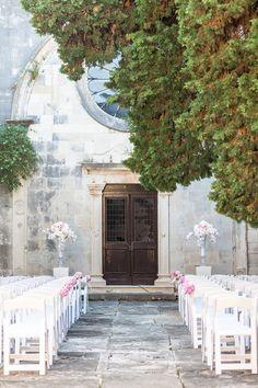 Wedding Ceremony in Hvar, Sveti Marak Hvar | Adriatic Weddings Croatia