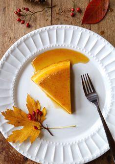 Pumpkin Maple Creme Caramel Flan