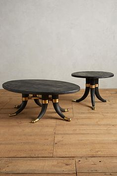 Wooden Tusk Coffee Table - anthropologie.com