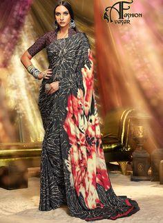 casual sarees online shopping india,UK. printed casual saree collection. printed sarees online shopping india low price. Cheap printed sarees online india.