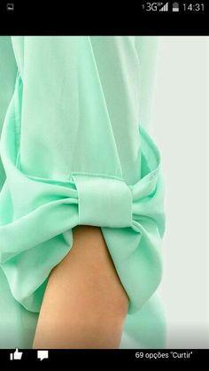 Most Beautiful Sleeve Designs Sleeves Designs For Dresses, Sleeve Designs, Blouse Designs, Fashion Details, Diy Fashion, Womens Fashion, Pastel Fashion, Autumn Fashion, Diy Clothes