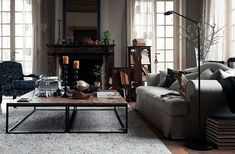 Hans Blomquist {off - white vintage industrial rustic traditional eclectic modern living room} | Flickr - Photo Sharing!