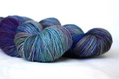 Ravelry: Olesdatter's Oslo MicroDyery OMD Bluefaced Leicester sock