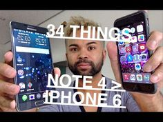 34 Things The Samsung Galaxy Note 4 can DO, iPhone 6 CAN'T!