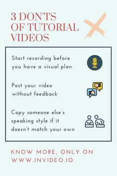 How To Make Tutorial Videos—Video Creation Made Easy. Visit the InVideo Blog and learn more! Videos Video, You Videos, Make Tutorial, Animation Tutorial, Made Video, Getting To Know You, How To Plan, How To Make, Comebacks