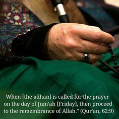 Jum'ah Mubarak. May we be grateful for the baraka Allah ﷻ has granted us this…
