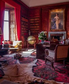 Dunrobin Castle - The Library 1-1