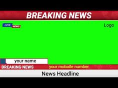 News Breaking Green Screen Background And Sounds Free Green Screen Backgrounds, Green Screen Background Images, Dance Background, Birthday Background Images, Green Background Video, New Backgrounds, Funny Vines Youtube, Free Video Editing Software, Green Screen Footage