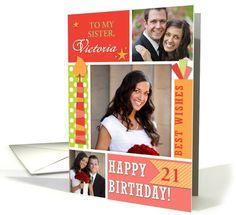 Birthday card: Summer Birthday Photocard Greeting Card by Frankz Paw Prints