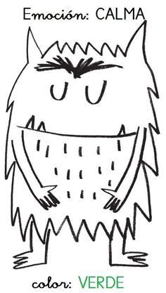 Monster Activities, Montessori Activities, Color Activities, Activities For Kids, Emotions Preschool, All About Me Preschool, English Activities, Feelings And Emotions, Character Education