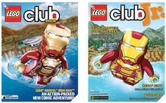 Iron Man 3 Lego Club Magazine and Lego Club Jr!