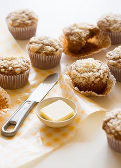Acorn Squash Streusel Muffins | Spoon Fork Bacon