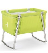 Babyhome Dream Cot: This portable crib has an innovative design and comes in bold hues like red, bright green and orange. #registry
