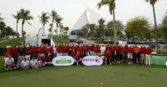 Xerox Corporate Golf Challenge, Emirates Golf Club #uae #golf Emirates Golf Club, Uae, Golf Clubs, Challenges