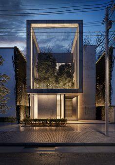 23 Ideas For Exterior Villa Design Modern Villa Design, Facade Design, Modern House Design, Exterior Design, Contemporary Design, Perspective Architecture, Architecture Résidentielle, Modern Residential Architecture, Enterprise Architecture