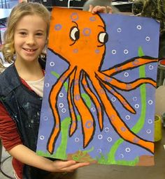 Art with Mrs. Seitz: Blue-Ringed Octopus