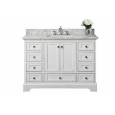 Brittany 48 Cottage White Bathroom Vanity James Martin Bathrooms Pinterest Vanities And