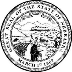 10 best university of nebraska history images on pinterest TD Ameritrade Park Omaha Seating equality before the law nebraska state motto state mottos nebraska state seals
