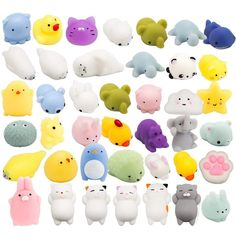 HOT TRENDY Squishy Jumbo Toy Blinky Kitty Stress Relief For Kids And Adults