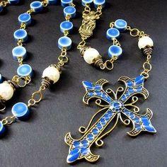 ceramic rosary