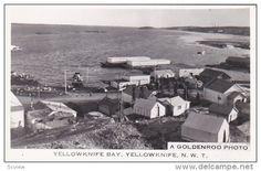 RP: Yellowknife Bay , YELLOWKNIFE , N.W.T. , Canada , 20-40s - Delcampe.com