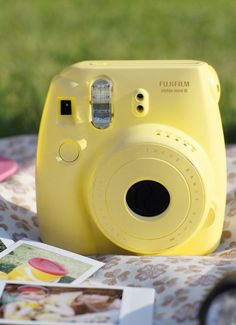 The Fujifilm Instax Mini 8 Instant Film Camera is a compact film camera that produces credit-card-size instant prints with a naturally vintage feel, thanks to saturated color and soft focus