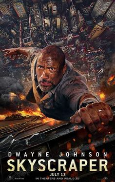 Skyscraper in US theaters July 2018 starring Dwayne Johnson, Neve Campbell, Chin Han, Pablo Schreiber. Dwayne Johnson leads the cast of Legendary's Skyscraper as former FBI Hostage Rescue Team leader and U. war veteran Will Sawyer, who now Film 2017, Peliculas Online Hd, Pablo Schreiber, Avengers Film, Neve Campbell, Hd Movies Download, Watch Movies, Movie Posters