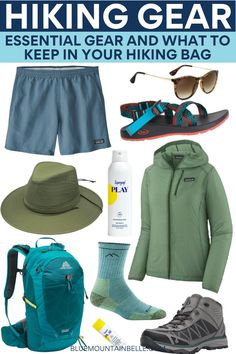Use this hiking gear list to plan your must-have hiking kit for you and your kit bag. Whether you're looking for hiking gear for beginners, hiking gear womens tips, hiking packing list or hiking pack backpacks, use this to plan your hiking packing list, what to bring on your backpacking trip, prepare your hiking outfit and make the most of what you need for hiking! Backpacking Packing List, Hiking Gear List, Trekking Gear, Hiking Bag, Hiking Tips, Packing Lists, Packing Tips For Travel, Travel Guides, Best Waterproof Jacket
