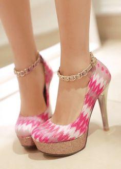 Gorgeous pink heels