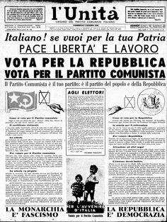 L'Unità 2 giugno 1948