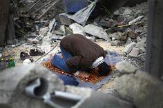 Man in Gaza